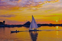 Oswego Harbor, Lake Ontario, New York