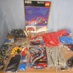 Technic - 8865 - Test Car  Lego - Technic - Test Car - 8865Grote Technische set en Flagship uit 1988Compleet inclusief handleidingJaar van Uitgave: 1988 Aantal Onderdelen:900Bouwinstructies:Goede Staat Normale Lichte Gebruiksporen Compleet:Ja inclusief extra parts.Staat set:Goede Staat Diverse lichtgrijze onderdelen hebben lichte verkleuring(niet vergeeld).Velgen hebben een lichte verkleuring. Set word zeer zorgvuldig verpakt en wereldwijd aangetekend verzonden. Foto's zijn originele eigen…