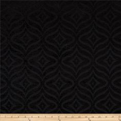 Waverly Canyon Calling Chenille Jacquard Ebony from @fabricdotcom  Refresh and modernize any home decor with this heavyweight jacquard fabric. Perfect fabric for revitalizing an old piece of furniture and updating it with a new look. This fabric is an appropriate weight for window treatments, accent pillows, upholstering furniture, headboards, poufs and ottomans. This fabric has 45,000 double rubs.