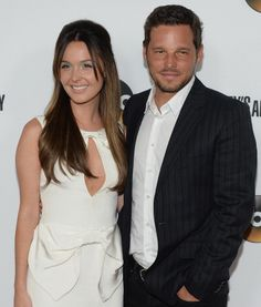 Grey's Anatomy| Justin Chambers, Camilla Luddington Greys Anatomy Alex, Greys Anatomy Couples, Greys Anatomy Facts, Grays Anatomy Tv, Alex And Jo, Lexie And Mark, Justin Chambers, Camilla Luddington, Grey's Anatomy Tv Show