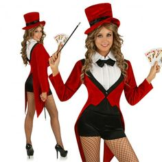 circus costume for women | Home › Magician Circus Party Costume