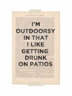 \\ patios