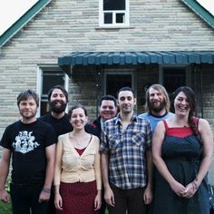 Hamilton's Dinner Belles are working on their second album. Scott Bell, Brandon Bliss, Greg Brisco, Jonathan Ely Cass, Brad Germain, Terra Lightfoot and Melanie Pothier. http://dinnerbelles.bandcamp.com/album/west-simcoe-county. Press photo by Cass Corneil.