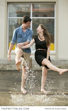 Le Roux & Chloë's Rainy-Romantic Engagement | Alexis Diack Photography