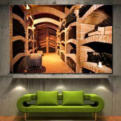 Wall Art Canvas Print Wine Cellar Picture Fine Home Decor Prints 2