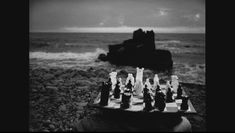 "Chess Pieces from Ingmar Bergman's ""The Seventh Seal"" Sold by Bukowskis in Sweden for $144,000 on september 28, 2009. Description from sites.google.com. I searched for this on bing.com/images"