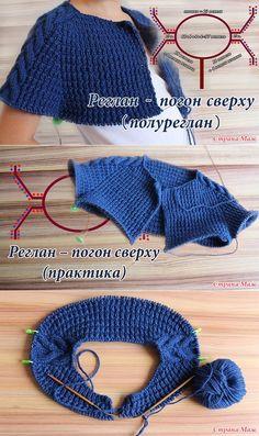 Knitwear Fashion: A beautiful coat on a circular knitting Russian Knitting Step by Step Knitting Videos, Sweater Knitting Patterns, Knitting Stitches, Knitting Designs, Knit Patterns, Free Knitting, Baby Knitting, Crochet Baby, Knit Crochet