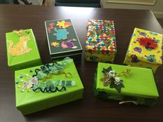 We received some more great shoebox designs today! Don't forget that Friday, Aug. 5, 2016, is the last day to drop off school supply donations and enter our shoebox decorating contest for a chance to win a $200 Amazon gift card. Here are the details: http://www.palmbeachunitedway.org/2016-boxed-success