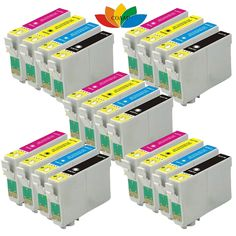 20PK Compatible T126 High yield Ink Cartridge for Epson Stylus NX330/430 WorkForce 435/545/630/3520/3530/3540