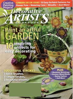 Decorative Artists Workbook04 - marcia dangelo - Picasa Web Albums... FREE MAGAZINE!!