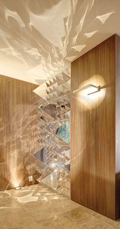 Panton Mirror Sculpture   Stardust Modern Design