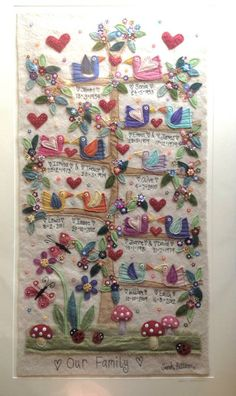 Personalised Embroideries by Sarah Pattison - utterly wonderful!