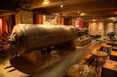 "steampunktendencies: ""The Edison : Steampunk Nigth Club in Los Angeles CA """
