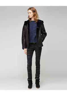 Isabel Marant / Brissy Shearling Jacket   La Garçonne