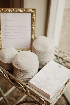 Traditional Jewish Ceremony with Elegant Features in Dallas, Texas Yarmulkes for Gentlemen Photography: Shaun Menary Photography Read More: www. Elegant Wedding, Fall Wedding, Our Wedding, Dream Wedding, Wedding Ideas, Gothic Wedding, Wedding Blog, Wedding Decor, Wedding Cakes