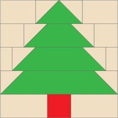 Tree: FREE Quilt Block Pattern, featured in Pines Presents lap quilt designed by Diane Dragovich Moore in McCall's Quilting November/December 2013 Holiday Quilt Patterns, Lap Quilt Patterns, Pattern Blocks, Christmas Tree Quilt, Christmas Quilting, Xmas Trees, Easy Quilts, Quilt Tutorials, Quilt Blocks