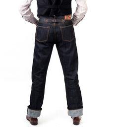 sjc simon james cathcart brakeman waist overalls jeans cinch back.jpg