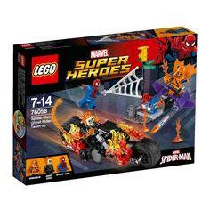 Lego 76058 Spider-Man: Ghost Rider samenwerking