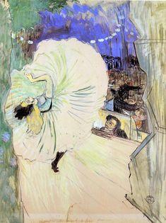 Henri de Toulouse-Lautrec: il Can Can della solitudine. Henri De Toulouse Lautrec, Art Nouveau, Art Français, Art Graphique, Dance Art, French Art, A4 Poster, Oeuvre D'art, Canvas Art Prints