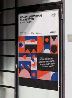 Riga International Film Festival 2017 – Edgars Zvirgzdiņš festival The Effective Pictures We Offer You About Music Festival ticket A quality picture can tell you many things. You can find the mo Riga, Identity Design, Visual Identity, Brochure Design, Festival Posters, Festival 2017, Musikfestival Poster, Event Branding, Identity Branding