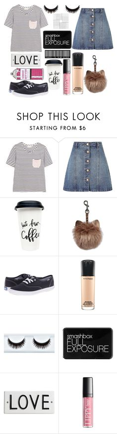 """""""outfit of the day"""" by lilyrose246 ❤ liked on Polyvore featuring Chinti and Parker, Anita & Green, Keds, MAC Cosmetics, Smashbox, Rosanna and Laser Kitten"""