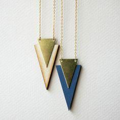 colares geometricos - Pesquisa Google