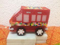 3D furgoneta hama beads