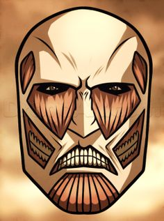 how to draw the colossal titan easy