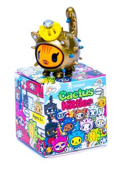Tokidoki Cactus Kitties!!! Mystery box!