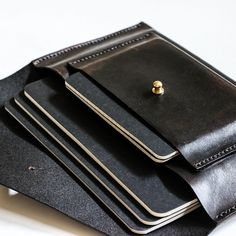 Customized gifts handcrafted by @codiathomsen. Our every day clutch enlarged and with an additional pocket, specifically for journals.