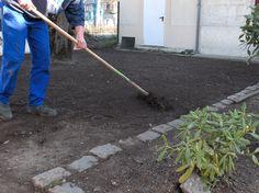 Aménagement du jardin des locaux d'Arcins - Bègles
