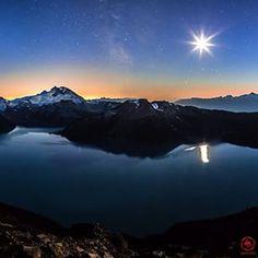 View of Garibaldi Lake from Panorama Ridge in Garibaldi Provincial Park near Vancouver, BC.  (Photo: @avisionphotography via Instagram)  #exploreBC #exploreCanada