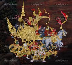 thai art paintings - Bing Images