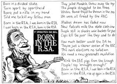 Top 10 Zapiro cartoons of 2014 My Love, Cartoons, South Africa, Satire, Caricature, Funny Things, Classic, Rocks, Gift Ideas