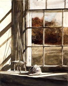 Andrew Newell Wyeth was a visual artist, primarily a realist painter, working predominantly in a regionalist style. Jamie Wyeth, Andrew Wyeth Paintings, Andrew Wyeth Art, Nc Wyeth, Art Ancien, Norman Rockwell, Pictures To Paint, American Artists, Oeuvre D'art