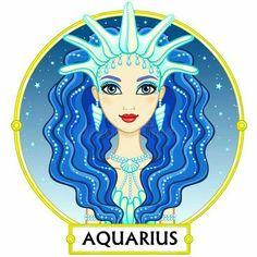 aquarius (♒) by Iana Zvereva