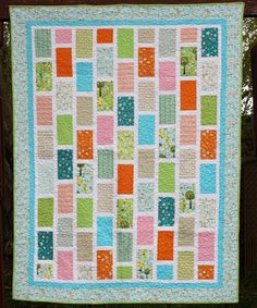 Brickyard Quilt pattern by Amy Smart | The best sewing patterns for women, girls, toys and more. Go To Patterns & Co.
