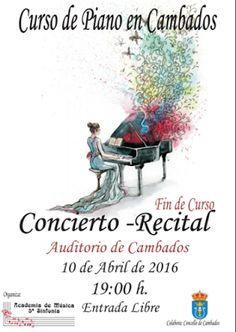 CORES DE CAMBADOS: CURSO E CONCERTO DE PIANO