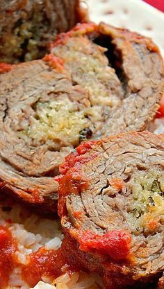 Easy Beef Braciole Recipe - This Silly Girl's Kitchen Wrap Recipes, Indian Food Recipes, Beef Recipes, Snack Recipes, Cooking Recipes, Indian Snacks, Barbecue Recipes, Cooking Tips, Italian Dinner Recipes