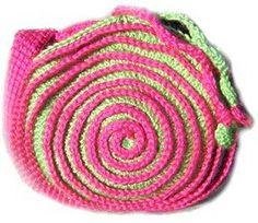 Spiraled Purse: free pattern