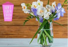 It's amazing to see how much brightness and cheer a simple vase of flowers can introduce to a room.