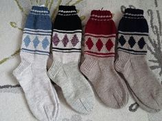 Wool Socks, Diy And Crafts, Villa, Knitting, Crochet, Inspiration, Fashion, Biblical Inspiration, Moda