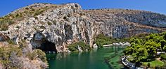 Thermal Radonic Mineral Water Lake in Vouliagmeni