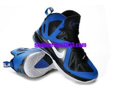Nike LeBron 9 P.S. Elite Shoes Black Blue  Lebron  James Shoes  cheap d60119122abf