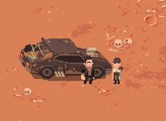 Had to be done... @Pixel_Dailies #pixelart #MadMax #Splataclysm