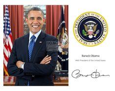 President Barack Obama & First Lady Michelle With Daughters | Etsy Barack Obama, Obama President, Malia And Sasha, Presidential Seal, Nasa Photos, Nasa History, Apollo Missions, Old Time Radio, Humphrey Bogart