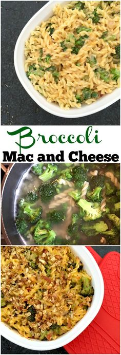 Packed with ooey gooey cheese, lots of flavor, and loads of broccoli, this is comfort food at its finest. Broccoli Mac And Cheese Recipe, Cheese Recipes, Pasta Recipes, Noodle Recipes, Chicken Recipes, Dinner Recipes, Vegetarian Recipes, Healthy Recipes, Healthy Meals