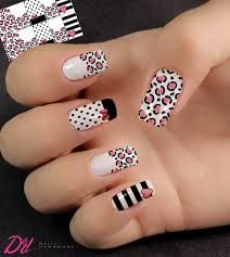 The 90 Vigorous Early Spring Nails Art Designs are so perfect for this Season Hope they can inspire you and read the article to get the gallery. Nails Only, Love Nails, Pretty Nails, Spring Nail Art, Spring Nails, Tiger Nails, Gel Nail Art Designs, Modern Nails, Nail Art Videos