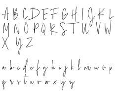 Lorelei's Boho Palm Custom Name Accent Pillow Cursive Fonts Alphabet, Hand Lettering Fonts, Chalkboard Lettering Alphabet, Cute Handwriting Fonts, Lettering Styles Alphabet, Modern Calligraphy Alphabet, Handwriting Examples, Learn Handwriting, Chalk Lettering