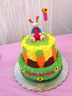 He's a keeper... we can't get enough of Harry the Bunny cakes here at BabyFirst headquarters.